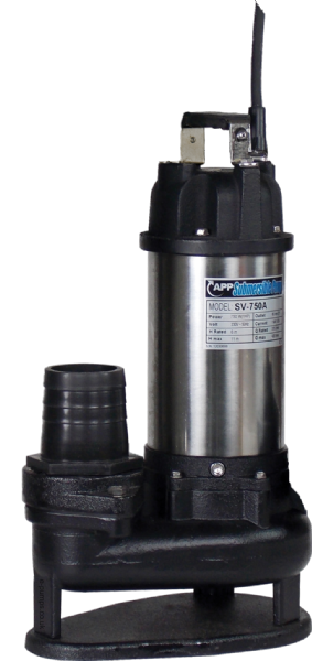 SV-750 Manual Submersible Drainage & Sewage Pump 230V